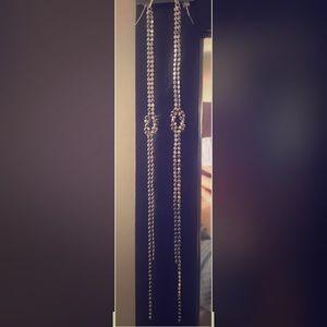 NWT express long chain earrings